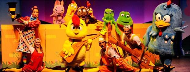 Galinha Pintadinha apresenta musical infantil em festival de teatro em Ribeirão Preto, SP (Foto: Divulgação)