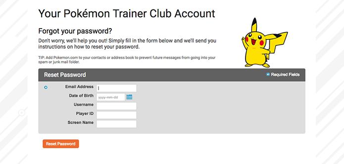 Digite seu email no Pokémon Go (Foto: Reprodução/Murilo Molina)