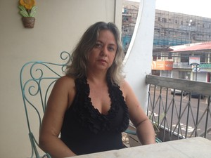 Regiane Gurgel, conselheira da Zona Sul de Macapá (Foto: Dyepeson Martins/G1)