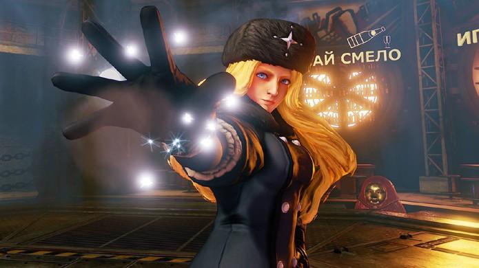 Kolin é a mais nova personagem revelada para Street Fighter 5 (Foto: Reprodução/Event Hubs)