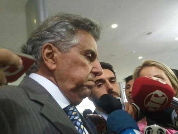 O primeiro-secretário da Câmara, deputado Beto Mansur (PRB-SP), durante entrevista no Palácio do Planalto (Foto: Filipe Matoso / G1)
