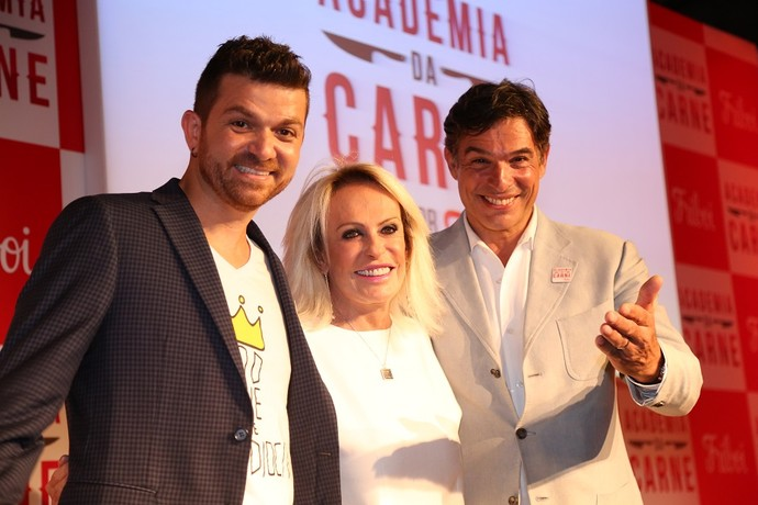 Guga Rocha, Ana Maria Braga e Olivier Anquier estão no projeto! (Foto: Carol Caminha/Gshow)