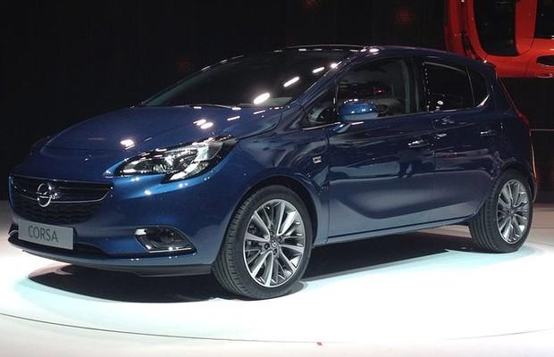 Opel Corsa 2015 (Foto: Aline Magalhães / Autoesporte)