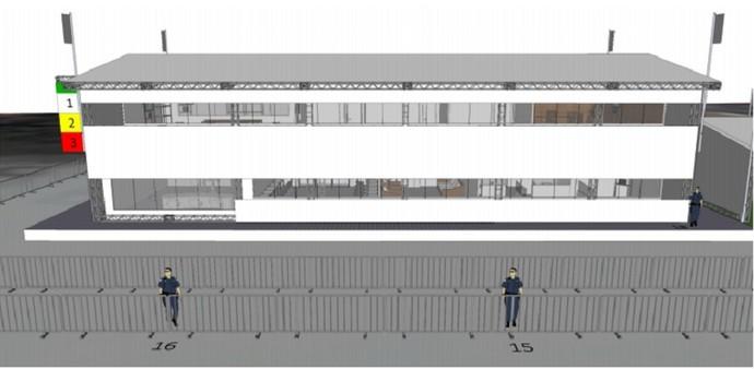 Imagem mostra como ficará o centro técnico de Itaúna (Foto: Reprodução WSL)