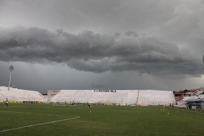 Estádio Cornélio de Barros, Salgueiro (Foto: Emerson Rocha)