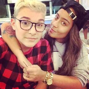 Rafaella Santos, irmã de Neymar, e MC Gui (Foto: Instagram / Reprodução)