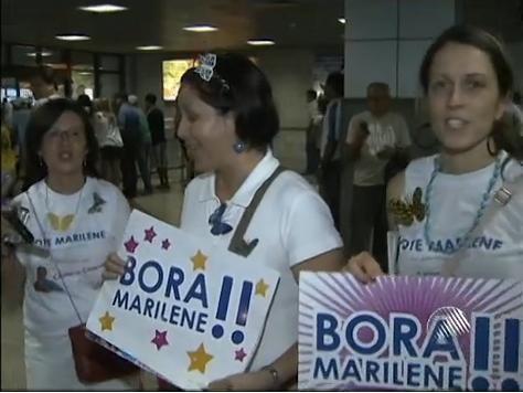 Marilene cheias de charme (Foto: Divulgação)