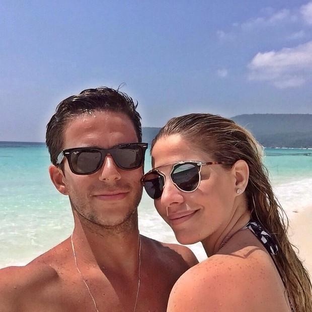 Luma Costa e marido Leo Martins (Foto: Divulgação / Instagram)