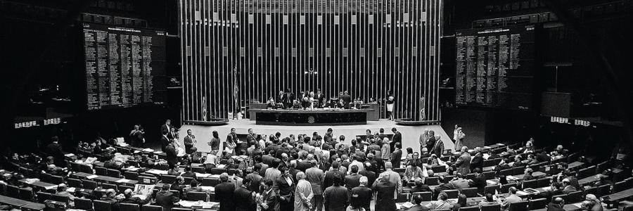 Plenário da Câmara dos deputados durante votação  (Foto: DIDA SAMPAIO/ESTADÃO CONTEÚDO)