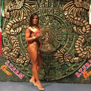 Gabi Dezan, a Life Coach das Estrelas, fatura título Pan Americano no México (Foto: Arquivo Pessoal \ Divulgação)