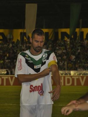 Zé Roberto capitão do Luverdense (Foto: Robson Boamorte)