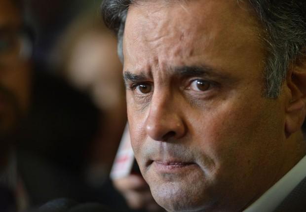O senador Aécio Neves (PSDB-MG) (Foto: Fabio Rodrigues Pozzebom/Agência Brasil)