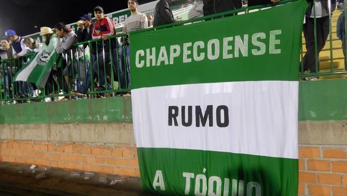 Chapecoense torcida (Foto: Laion Espíndula)
