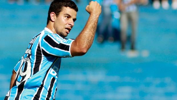 André Lima gol Grêmio (Foto: Wesley Santos / Futura Press)