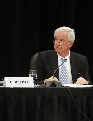 Craig Reedie, presidente da Wada (Foto: AP Photo/Brennan Linsley)