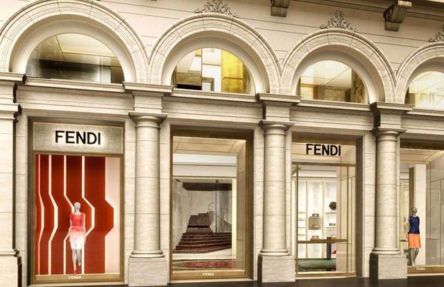 Fachada do Palazzo Fendi (Foto: Reprodução/WWD)