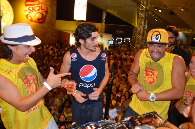 Yuri e Fiuk - Salvador (Foto: Felipe Souto Maior / AgNews)