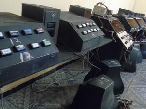 23 máquinas de jogos foram apreendidas (Foto: Divulgação/Polícia Civil do RN)