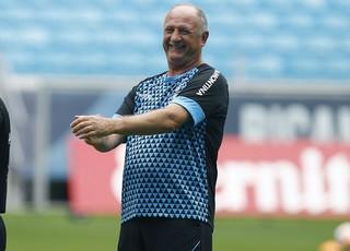Felipão Luiz Felipe Scolari Grêmio treino (Foto: Lucas Uebel/Divulgação Grêmio)