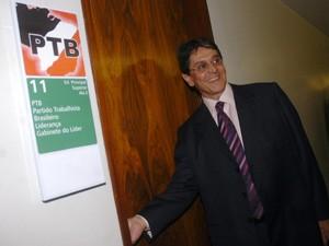 O ex-deputado Roberto Jefferson, em imagem de novembro de 2008  (Foto: José Cruz  / Agência Brasil)