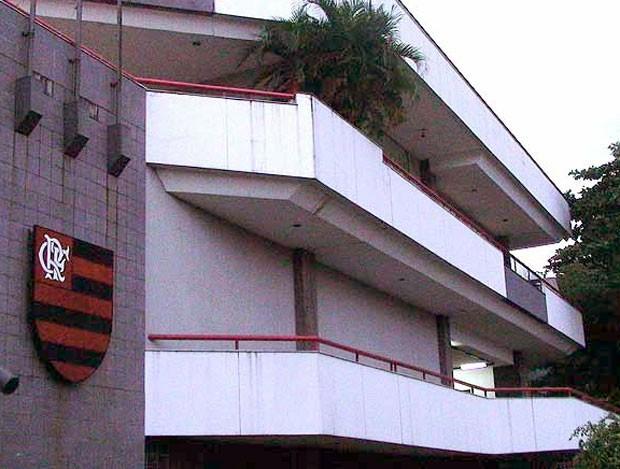 sede do Flamengo na Gávea (Foto: Fred Huber / Globoesporte.com)