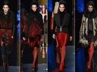 Jean Paul Gaultier aposta em peças com volume e cheia de brilho na semana de moda de Paris