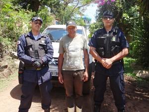 Afonso Augusto Alves, encontrado em Camargos (Foto: Guarda Municipal de Mariana/Reprodução)