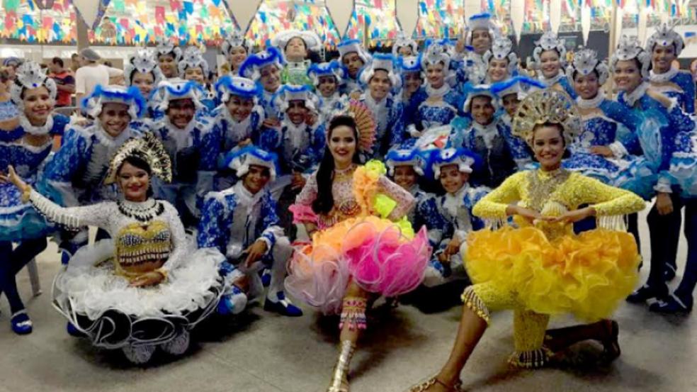 Quadrilha Roceirinhos da Duque foi a vencedora da categoria infantil do concurso. (Foto: FCP/Divulgação)