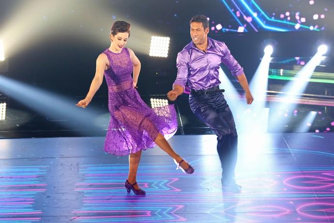 Sophia em sua primeira apresentação no 'Dança dos Famosos' (Foto: Carol Caminha/Gshow)
