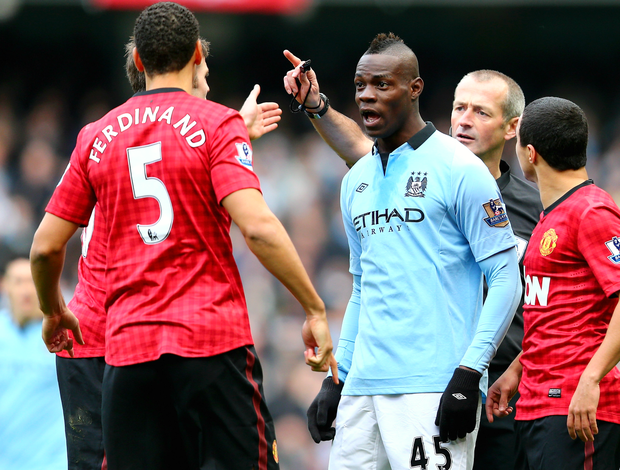 Mario Balotelli Manchester City United (Foto: Getty Images)