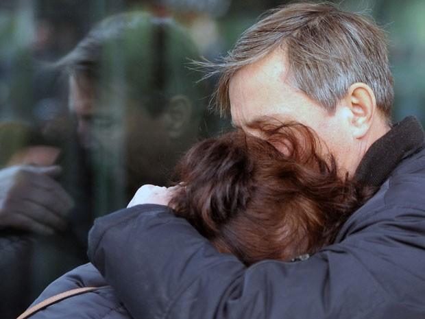 Familiares ficaram em estado de choque, buscando informações no aeroporto russo. (Foto: Reuters)
