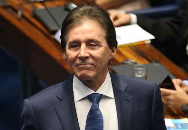 O presidente do Senado, Eunício Oliveira (PMDB-CE) (Foto: Fabio Rodrigues Pozzebom/Agência Brasil)