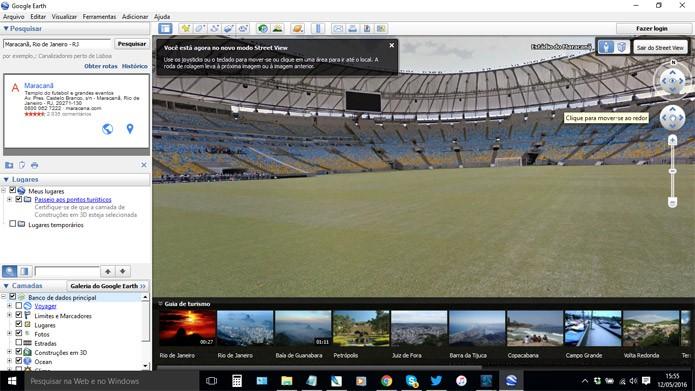 Recurso é igual ao do Google Maps (Foto: Reprodução)