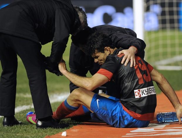 Diego Costa Atlético de Madri (Foto: AFP)