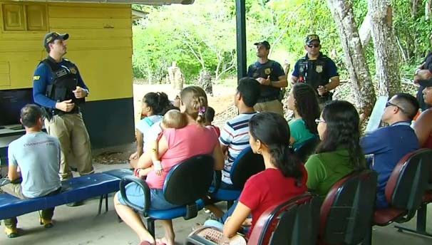 A ação faz parte da operação Semana Santa (Foto: Reprodução/BDS)