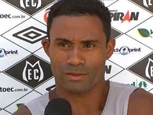 Volante do Mixto, Jean Carlos, disse que foi pego de surpresa com a suspensão de partida (Foto: Reprodução/TVCA)