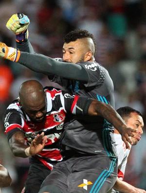 Santa Cruz x Flamengo (Foto: Marlon Costa / Pernambuco Press)