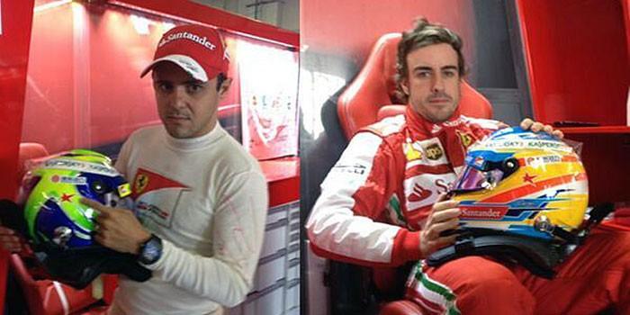 Fernando Alonso Felipe Massa Maria de Villota