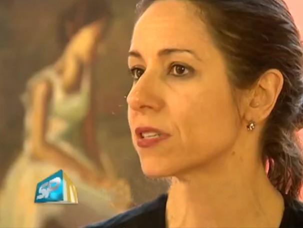 Ana Bottosso dirige a Companhia de Danças de Diadema há mais de 10 anos (Foto: Reprodução TV Fronteira)