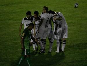 Salgueiro x Ceará comemoração Cornélio de Barros Copa do Nordeste (Foto: Kid Júnior/Agência Diário)