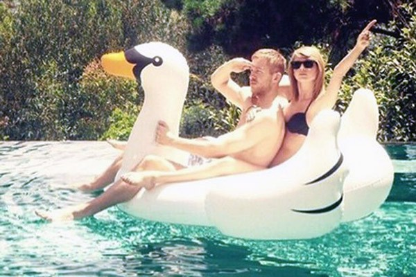 Calvin Harris X Taylor Swift (Foto: Instagram)