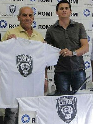 Dario Furlan e Clayton Vieira - União Barbarense (Foto: Divulgação/UniãoBarbarense)