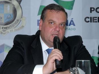 Leon Grupenmacher era diretor da Polícia Científica do Paraná (Foto: Divulgação/ Governo do Paraná)