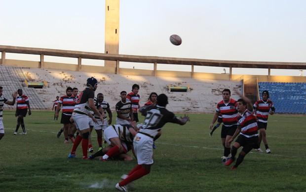 Estreia do Delta Rugby na Liga Nortesde no Albertão (Foto: João Henrique Bezerra)
