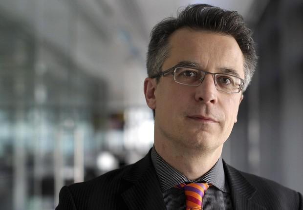 Moritz Kraemer , chefe global de ratings soberanos da agência de classificação de risco Standard & Poor's (Foto: Simon Dawson/Bloomberg via Getty Images)