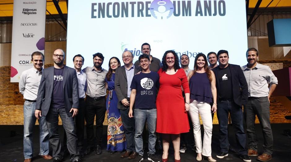 Finalistas do Encontre um Anjo 2017 durante o Festival de Cultura Empreendedora  (Foto: Ricardo Cardoso)
