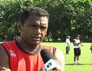 Kleber Pereira, atacante e diretor de futebol do Moto Club (Foto: Reprodução/TV Mirante)