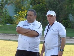 Guto e Paulo Campos (Foto: Diego Gavazzi/TV Rio Sul)