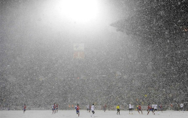 Neve Eliminatórias Estados Unidos EUA costa rica (Foto: Reuters)