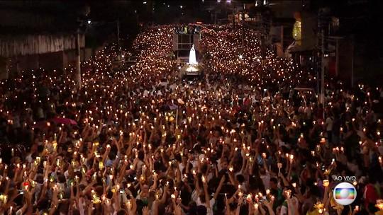 Milhares de fiéis homenageiam Nossa Senhora de Fátima em Belém